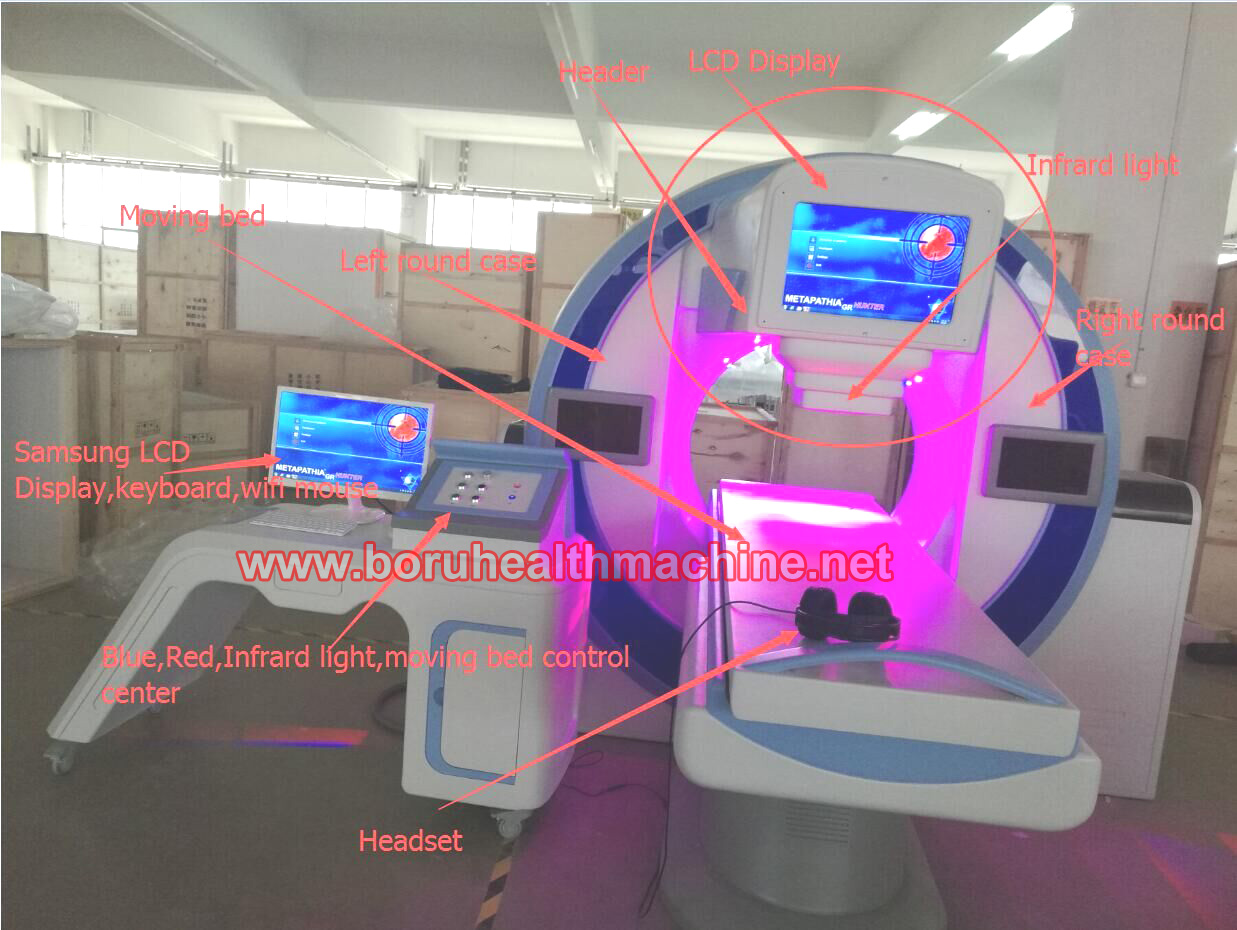 China hotsale 5D NLS CELL quantum resonnant Capsule