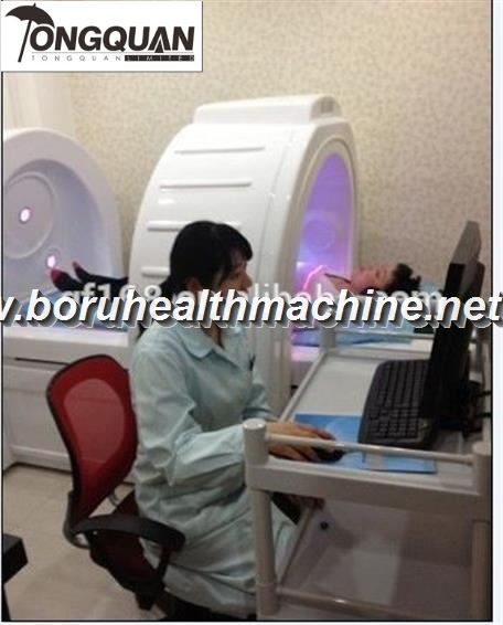Advanced Metatron 5D nls full body capsule health analyzer